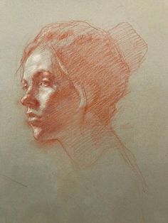 Sanguine and crète – – Art – Drawing Life Drawing, Drawing Sketches, Art Drawings, Portrait Sketches, Portrait Art, Figure Sketching, Figure Drawing, Figure Painting, Painting & Drawing