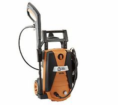 Jon Telle Mueller bringing Blue Clean AR383L 1800 PSI Electric Pressure Washers exclusively to QVC. 4 Installments of $41.23, plus Tax and S & H.