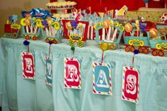 Circus Theme Centerpieces | If you end up trying out this simple project I'd love to see the ...