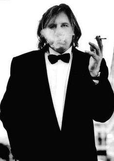 Gerard Depardieu by Anton Corbijn