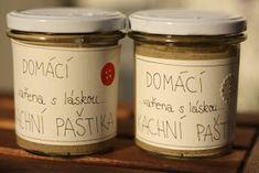 U nás na kopečku: ... rychlá domácí paštika.... Czech Recipes, Preserving Food, Kitchen Hacks, Homemade Gifts, Food Inspiration, Ham, Food To Make, Breakfast Recipes