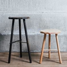 Taking cues from traditional woodsman's furniture, the PLANE Stool is a simple construction in English hardwood, updated and re-interpreted in our idiosyncratic way. The surfaces are precisel… Hand Shapes, Studio, Bar Stools, Hardwood, Minimalist, Traditional, Simple, Plane, Furniture