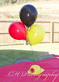World Traveling Military Family – Fireman Birthday Party