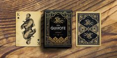 Don Quixote Playing Cards Vol.2 - Clavileño Deck on Packaging of the World - Creative Package Design Gallery