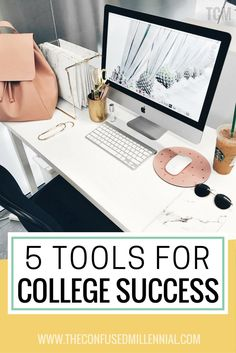 college prep and organization tips, #collegeadvice, tools for success in college, resources for college