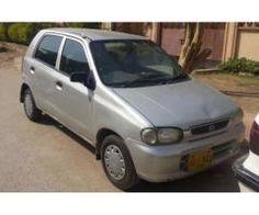 Suzuki Alto vxr 2002 Silver Color Tracker Installed For Sale In Karachi