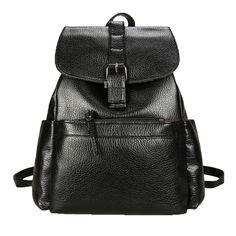 Woman Backpack Ladies Shoulder Bag Mochila Feminina For Teenage Girls  College Students Vintage Fashion Traval Backpacks 4c7ca8176f463