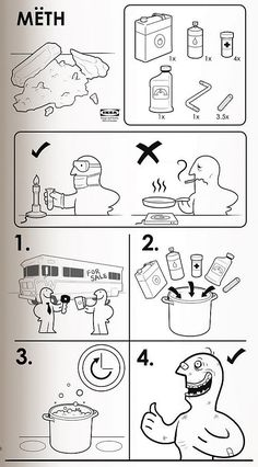 IkeaInspired Instruction Manuals Will Teach You How To Eat