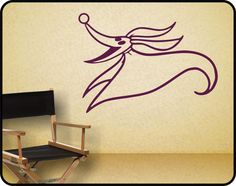 Nightmare Before Christmas Decor / Wall Decal / By WallCrafters