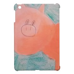 #ABC Art by Children, Pink Orange Pig Case For The iPad Mini http://www.zazzle.com/abc_art_by_children_pink_orange_pig_ipad_mini_case-256207538145701401