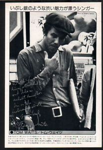 1975-Tom-Waits-JAPAN-mag-photo-pinup-mini-poster-vintage-clipping-cutting-11m