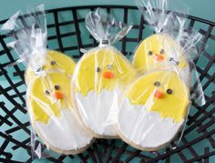 Chick Easter Cookies - Sweet Sweet Tooth