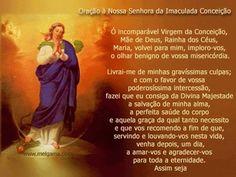 Oração Nossa Senhora