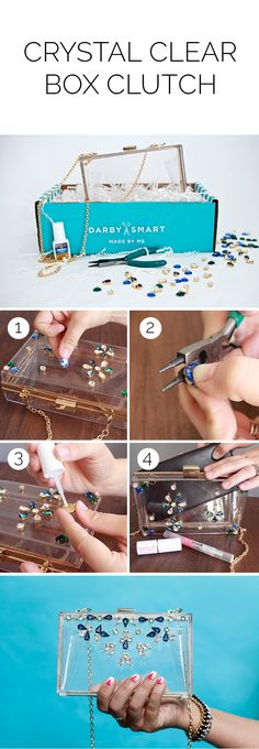 Create fun, quick How-To videos to share with friends. Darby Smart is the most popular video community for beauty, food, DIY and slime enthusiasts - join today! Craft Tutorials, Diy Projects, Bag Tutorials, Best Leather Wallet, Creative Bag, Diy Clutch, Diy Clothes, Diy Fashion, Diy Gifts