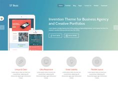 ST Buzz is a professional joomla template for agency, Business or Portfolio website. It's unique and modern design built with HTML5 and CSS3.