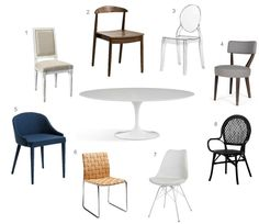 To Make A Home Blog - Saarinen tulip table and chair options