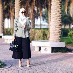 Hijab Fashion Summer, Modest Fashion Hijab, Modern Hijab Fashion, Modesty Fashion, Casual Hijab Outfit, Hijab Fashion Inspiration, Islamic Fashion, Business Casual Outfits, Muslim Fashion