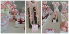 sweet table battesimo http://elicreashabby.blogspot.it/