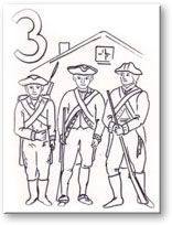 Interesting. Coloring pages for the Bill of rights.  Great idea!