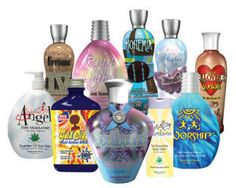 Designer Skin Products.. I love this brand of tanning lotions! The new Love DS is great! They also have a lotion to protect those who have tattoos!!