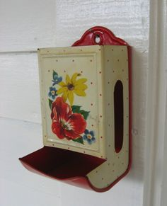 1950 Old Metal Matchbox vintage enamel Kitchen Decoration Chimney is 70 years old