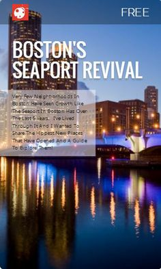 14 Things to Do in Boston's Seaport from @Buggl