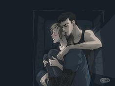 """Roth shares fears with both Tris and Tobias. 