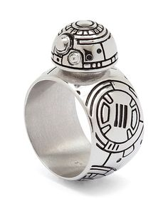 BB-8 Droid 3D Ring por cinejewel en Etsy