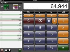 Here are 5 Free calculator apps for iPad. These include normal calculator, as well as scientific calculator apps for iPad. Best Ipad, Paper Tape, Calculator, Computer Keyboard, Free Apps, Ads, Places, Computer Keypad, Keyboard