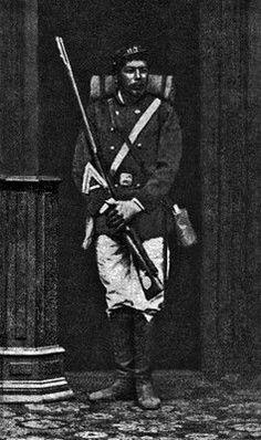 Daniel Rebolledo Sepúlveda, Sargento 2° Regimiento Buin 1° de Línea, añ0 1880