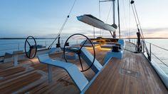 Barche a vela di lusso - Lo yacht a vela Baltic - Win Win Yacht Design, Boat Design, Winwin, Exterior Design, Interior And Exterior, Baltic Yachts, Luxury Sailing Yachts, Classic Yachts, Guest Cabin