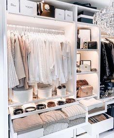 Bedroom Closet Design, Room Ideas Bedroom, Home Room Design, Closet Designs, Bedroom Decor, House Design, Wardrobe Room, Dressing Room Design, Ikea Dressing Room