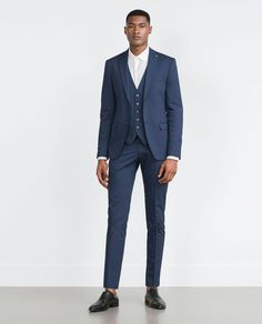 Image 1 of WAISTCOAT SUIT from Zara