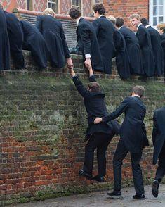 #teamwork #schoolboys #english #preppy photo credit @markdraiseyportraits @flickr