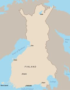 History Of Finland, White Sea, Helsinki, Ww2, Maps, History, Finland, Cards, Map