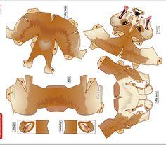 Welsh corgi pembroke template Toilet Paper Roll Crafts, Paper Crafts Origami, Cardboard Costume, Moon Crafts, 3d Figures, Paper Animals, Paper Folding, Paper Models, Paper Toys