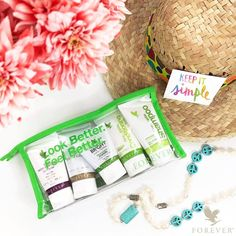 Forever Travel Kit | When you're traveling, you want to take your favorite personal care products. Take Forever wherever you go in and experience your new favorite personal care products convenient travel sizes.