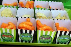 Teenage Mutant Ninja Turtles Birthday Party Ideas / Photo 35 of 50 Ninja Turtle Party, Ninja Turtles, Ninja Party, Ninja Turtle Birthday, Turtle Birthday Parties, 5th Birthday, Birthday Ideas, Mutant Ninja, Teenage Mutant