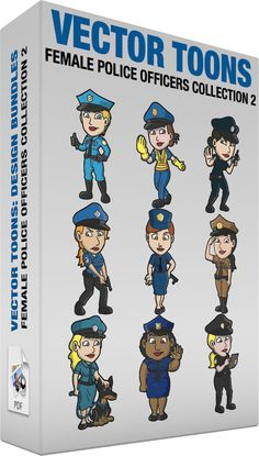 Female Police Officers Collection 2 :  Bundle of images includes the following:  A female police officer giving her approval A woman with short blonde hair wearing a sky blue police officer uniform cap with black brim dark gray gloves utility belt and boots smirks while lifting her right hand to gesture a thumbs up sign  A female police officer directing traffic A woman with brown hair wearing a blue police officer uniform cap with black brim yellow orange reflective vest yellow gloves and…