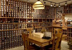 really big wine cellar...... I think I need to go inventory this!!!
