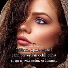 Iubirea... apare atunci când privești în ochii cuiva și nu îi vezi ochii ci Inima...  Seară plină de Iubire... Trăire și de #oamenifrumosi ______________ The most beautiful posts   Despre Oameni frumosi