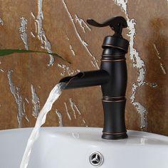 Vintage Single Handle Bathroom Water Pump Faucet