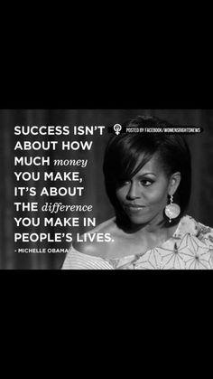 Michelle Obama quote <3