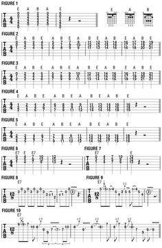 9 Best 12 bar blues chords images in 2018 | Guitar lessons