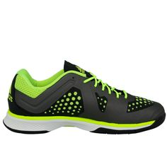 online retailer 7ba52 9c28b Adidas Performance ADIZERO COUNTERBLAST 7 Chaussures de Handball Homme Gris  Jaune