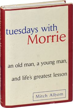 tuesdays with morrie by mitch albom critical thinking essay Tuesdays with morrie essay writing and critical thinking  alternate page content a teacher or a full summary of mitch albom lesson mitch albom's tuesdays with.