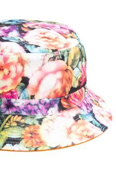 1e0ce78102c Multi Floral Reversible Bucket Hat