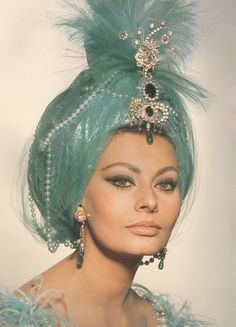 Butterflies and Diamonds ~ the one and only, Sophia Loren