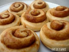 cinnamon rolls from scratch with cream cheese frosting!