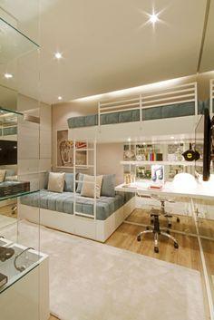 Navegue por fotos de Quartos : MAC_Otacílio. Veja fotos com as melhores ideias e inspirações para criar uma casa perfeita.